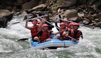 Kiulu River White Water Rafting (Grade I-II) Min 2 Pax